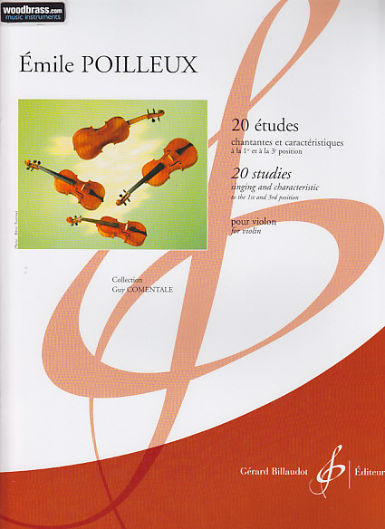 Poilleux 20 études violon