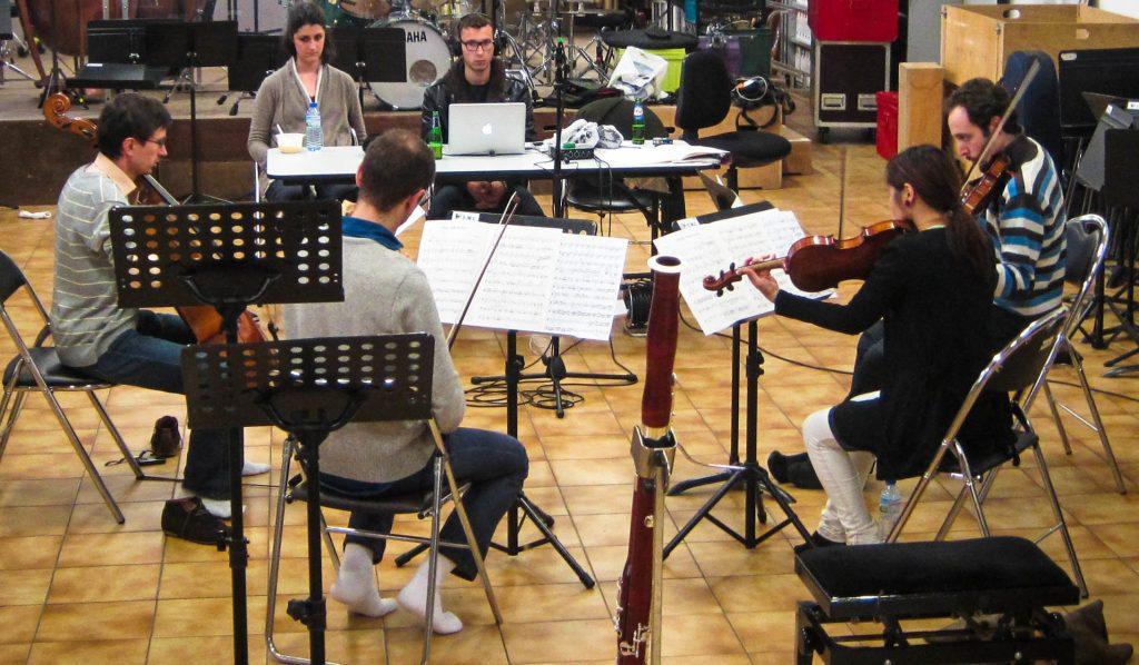 Enregistrement quatuor Piazzolla