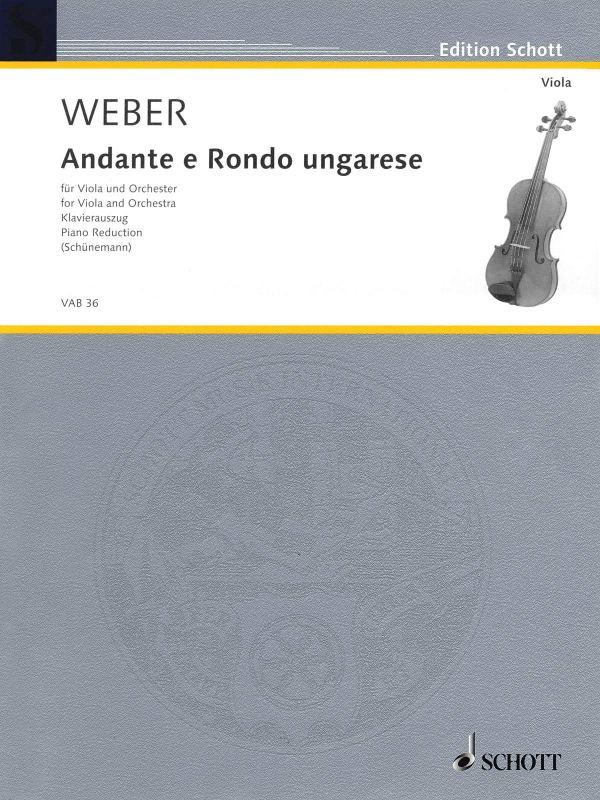 Weber Andante e Rondo ungarese