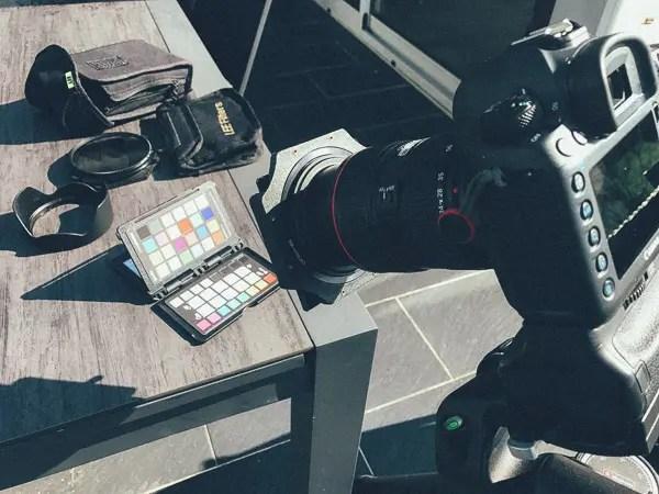 Photographier la charte de couleur colorChecker