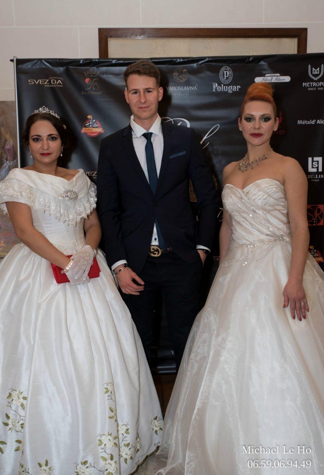 La créatrice du Bal Anastasia Gai et le blogueur Nicolas Rouquet