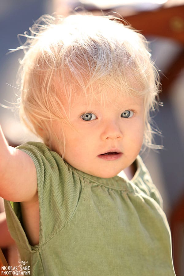 beautiful baby portrait in Los Angeles