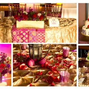 Indian wedding details at marina del rey Marriott wedding venue