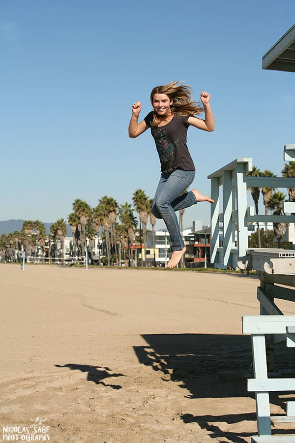 children photography at venice beach