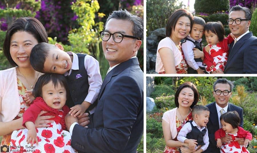 korean family portraits