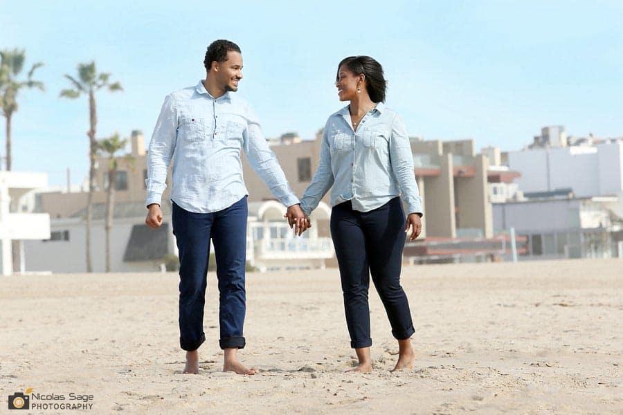 Venice Beach Engagement Photography