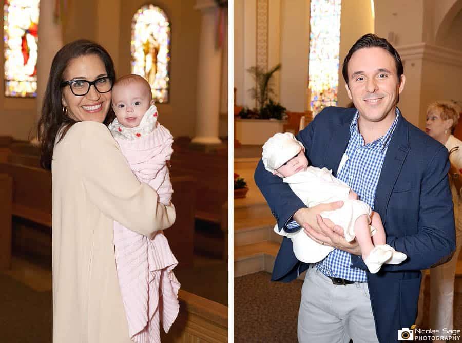 twin babies baptism photography