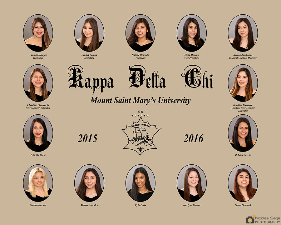 Sorority and Fraternity Composite Photography in Los Angeles