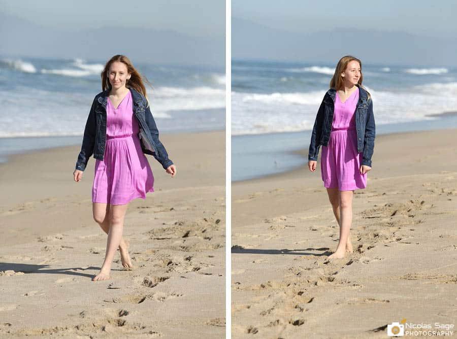 bat mitzvah photo session beach