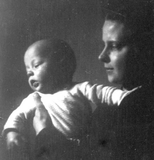 My mother and I, Essen 1941