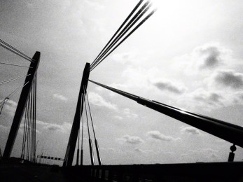 Bridge somewhere between the Netherlands and Germany