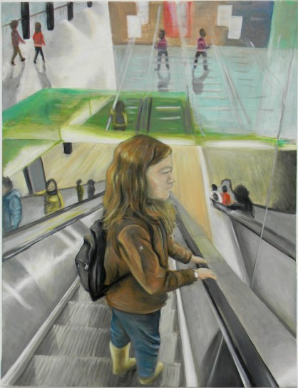 Escalator Scene (2015) - $1200