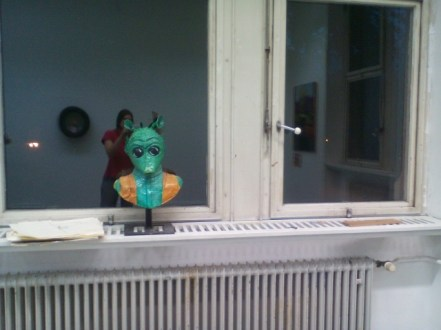 "My sculpture ""Greedo"""