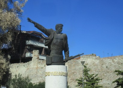 one of many communist monuments