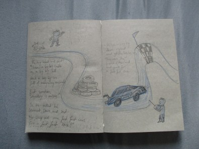 concept sketch for a children's book