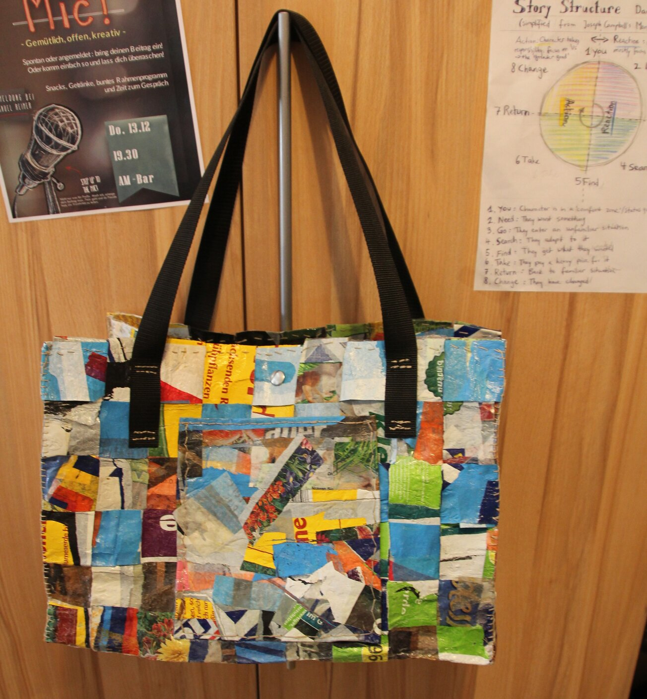 Recycling Art Bag!