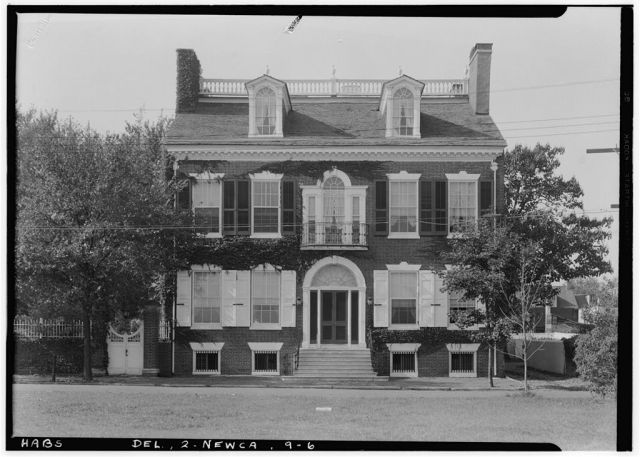 George Read II House, New Castle, Delaware (Historic American Building Survey, Library of Congress)