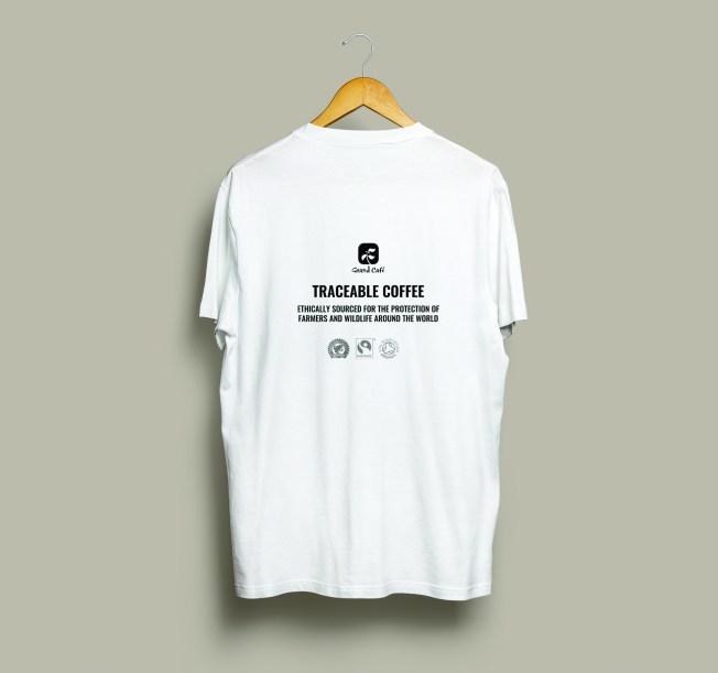 T-Shirt Mock-Up Back