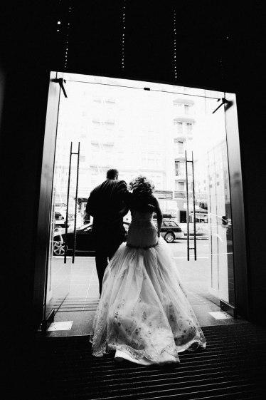 clift wedding san francisco photographer nicole caldwell bride and groom