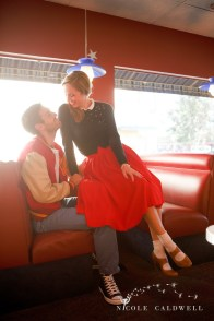 engagement photography vintage 50s san diego photos by Nicole Caldwell Studio 005