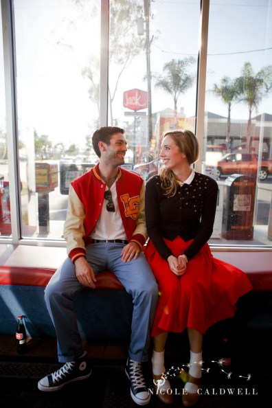 engagement photography vintage 50s san diego photos by Nicole Caldwell Studio 014
