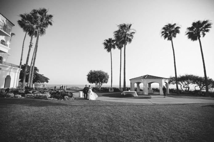 landscape photography ceremony ritz carlton laguna niguel wedding