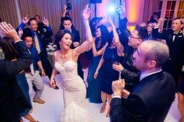 ritz carlton wedding laguna niguel couple on dance floor