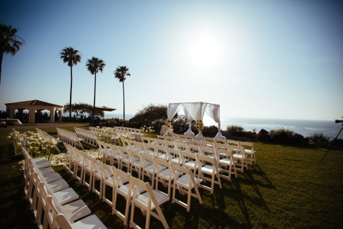 ceremony site wedding ritz carlton laguna niguel