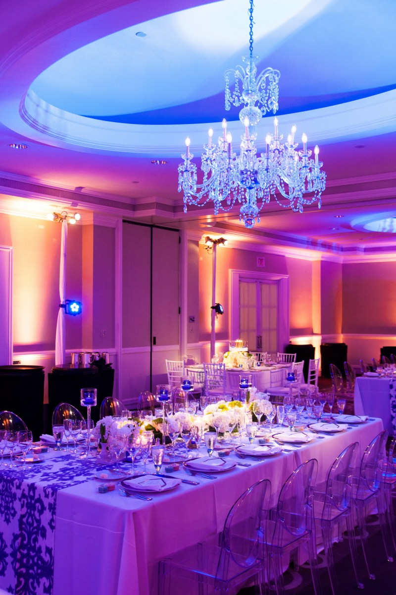 wedding reception colorful ritz carlton laguna niguel