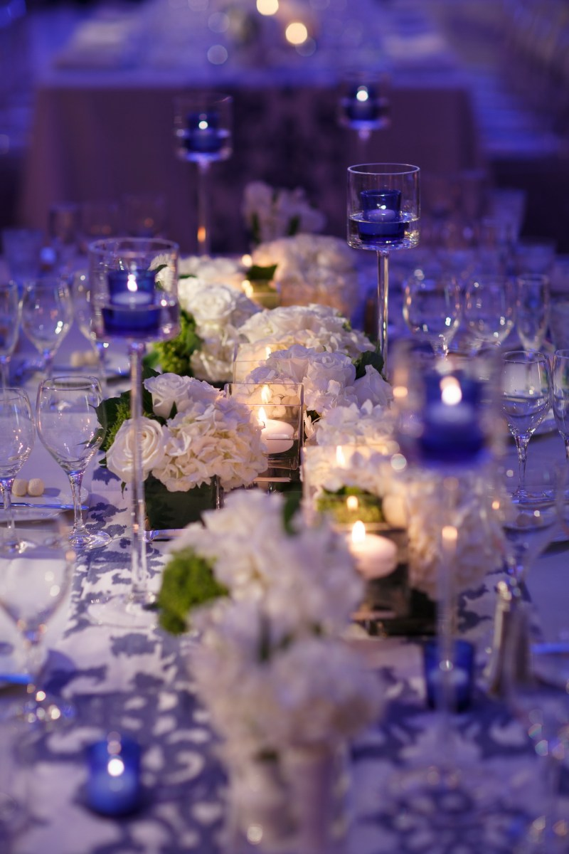 wedding reception table ritz carlton laguna niguel