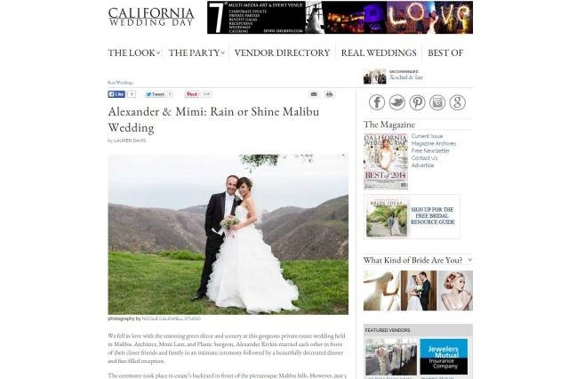 california-WEdding-Day-magazine-nicole-caldwell-published