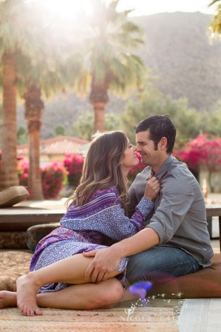 Korakia Pensione in Palm Springs engagement photos by nicole caldwell11