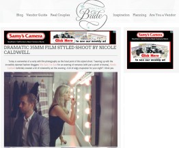 published in on the go bride film engagement shooter