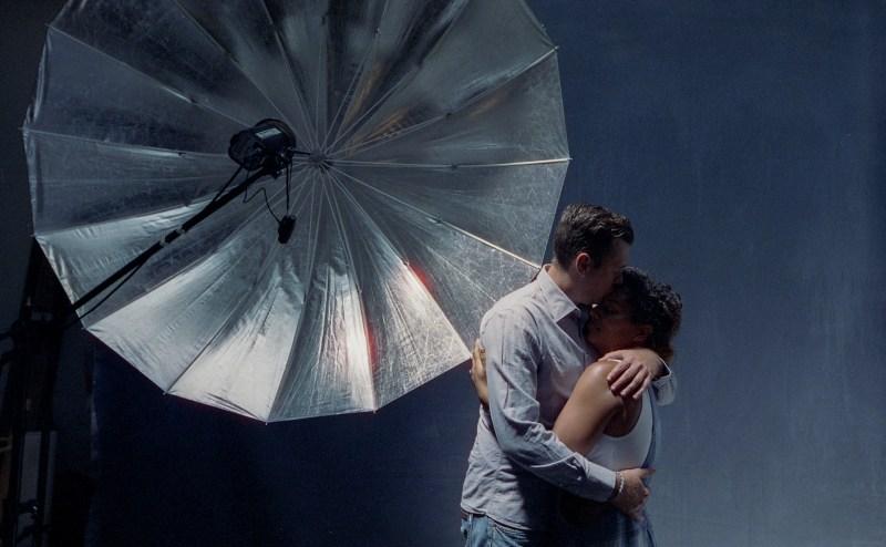 cinestill film engage,ent session in studio nicole caldwell 03