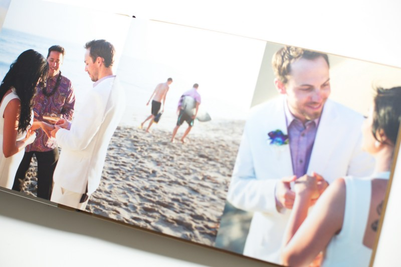 surf and sand elopement wedding album nicole caldwell 11 laguna beach