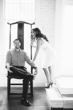 engagement photos in the studio by niocle caldwell oc 15