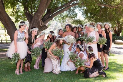 temecula creek inn wedding photographer bridesmaids
