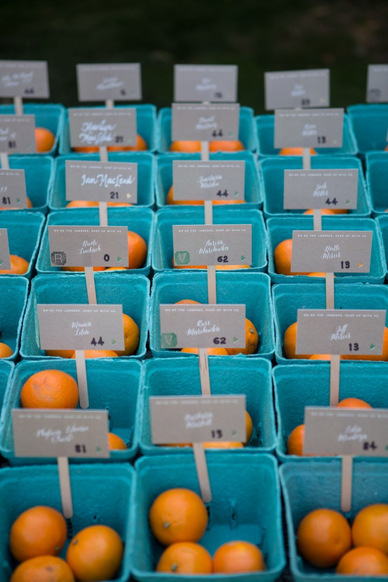 oranges placecards temecula creek inn wedding photographer