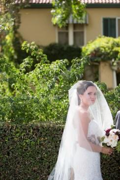 French Estate wedding photographer orange bride before ceremony