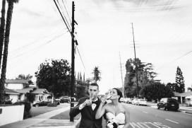 French Estate wedding photographer orange ceremony mustang