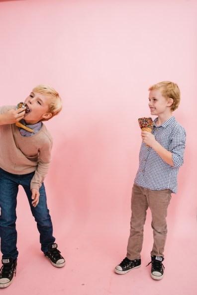 fun different family photos ice cream studio photographs nicole caldwell 29