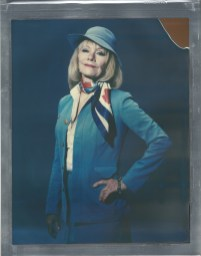 8 x 10 polaroid color impossible film nicole caldwell pan am flight attendant