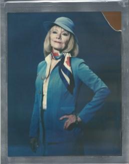 8 x 10 polaroid color impossible film nicole caldwell pan am flight attendant