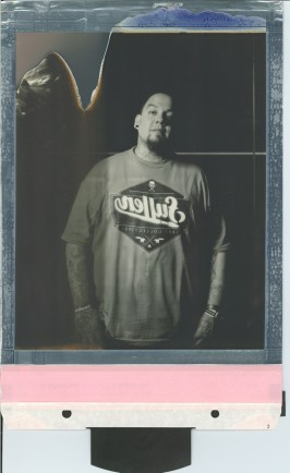 8 x 10 polaroid impossible project film by artist Nicole Caldwell 02