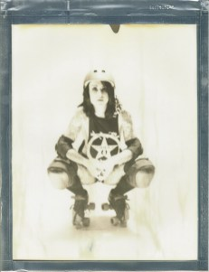 8 x 10 polaroid impossible project film by artist Nicole Caldwell 08