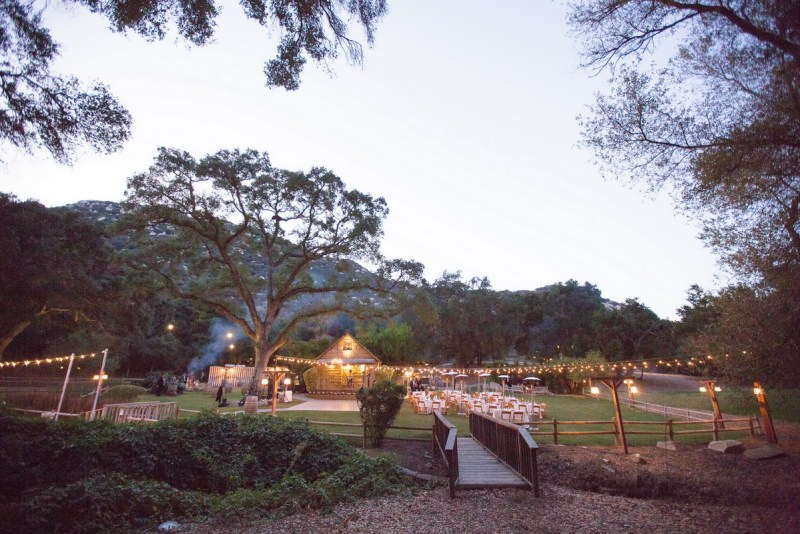 temecula creek inn weddings nightime ceremony jewish 30