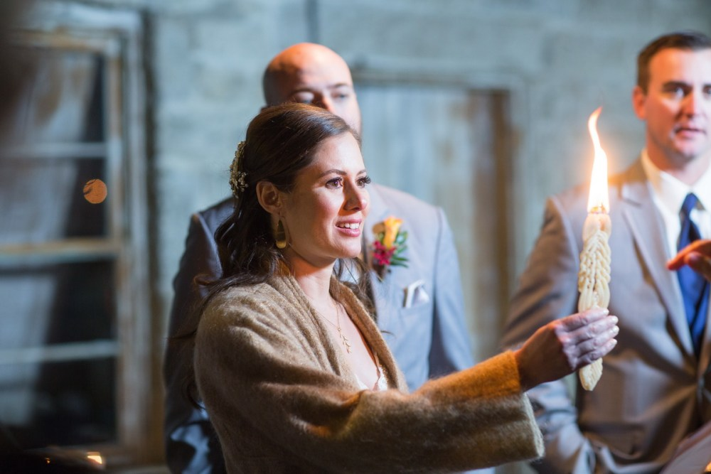 temecula creek inn weddings nightime ceremony jewish 35