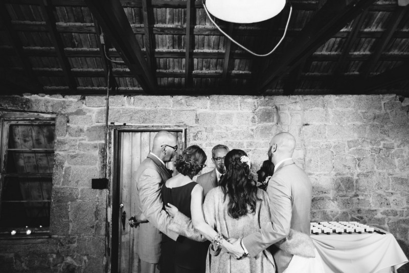 temecula creek inn weddings nightime ceremony jewish 39