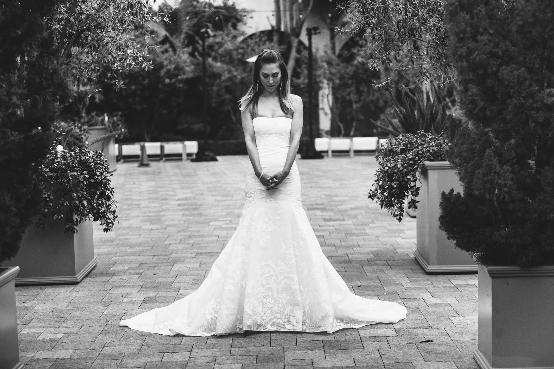first look wedding vibiana los angeles