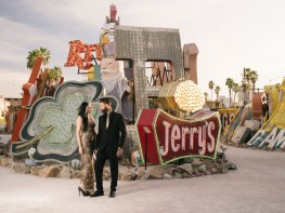 las vegas engagement shoot neon museum boneyard by nicole caldwell 03